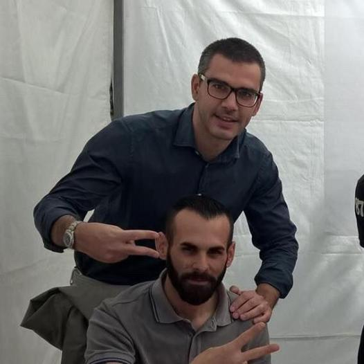 Con Fabio Veronese Candidato Sindaco del M5S a Porcia
